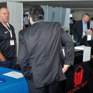 John T at a dealer show in New York